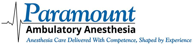 Paramount Ambulatory Anesthesia